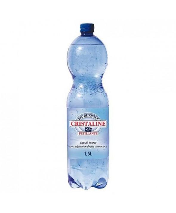 Cristaline gazeuse 1.5 L