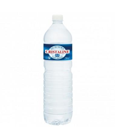 Cristaline eau plate 1.5 L