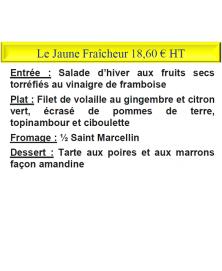 LE JAUNE FRAICHEUR