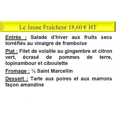 LE JAUNE FRAÎCHEUR